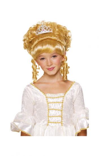Mädchenperücke Prinzessin blond