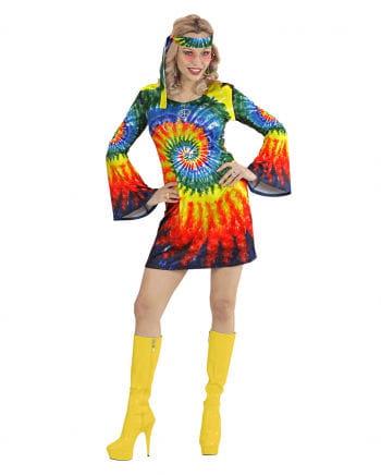 Psychedelic Hippie Braut Kostüm