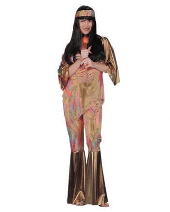 Regenbogen Hippie Kostüm- M/L 38-40