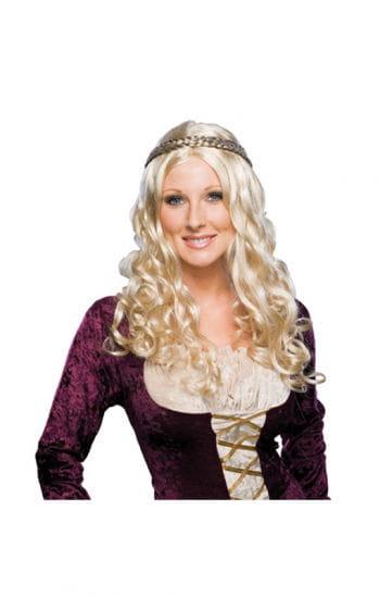 Renaissance Frauenperücke blond
