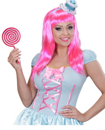 Riesen Lolly pink/weiß