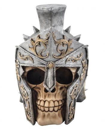 Totenkopf mit Gladiatorenhelm