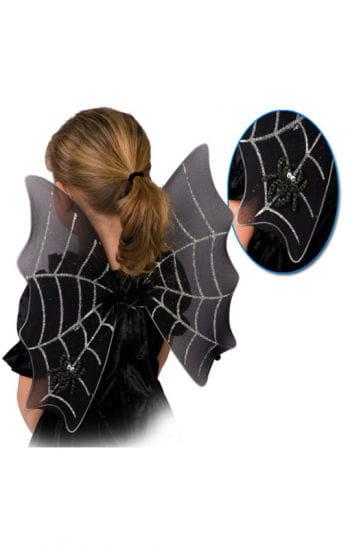 Schwarze Spinnweben Flügel