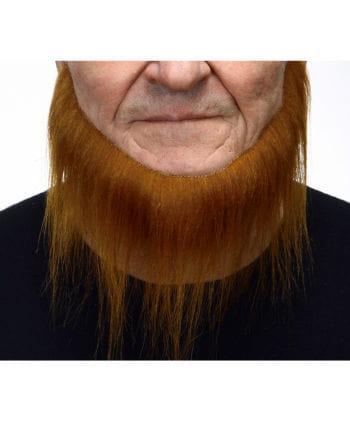 Rot-brauner selbstklebender Seefahrer Bart