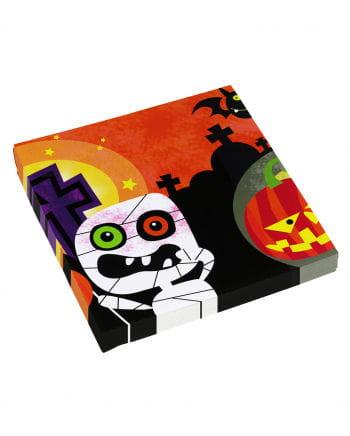 Halloween Monster Servietten 20 Stück