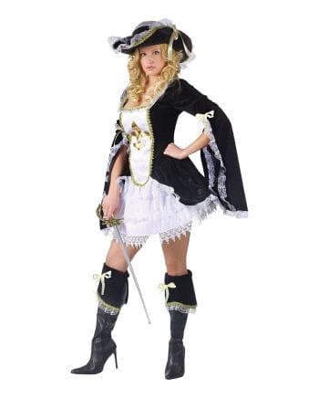 Sexy Musketier Kostüm ML