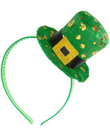 Mini Hut-Haarreifen für St. Patricks Day