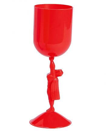 Roter Superhelden Kelch