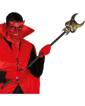 Teufelsstab mit Hörnern