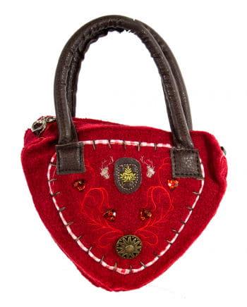 Trachtentasche Tirol rot