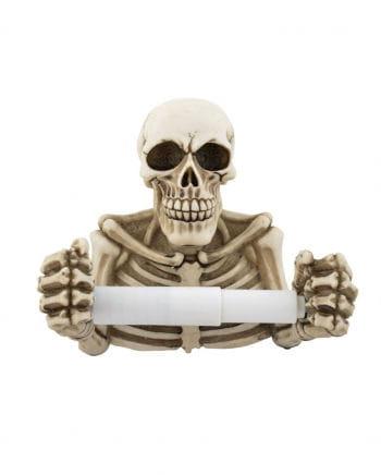 Skelett Toilettenpapierhalter