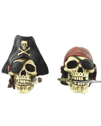 Piraten Schädel Spardosen 2 St.