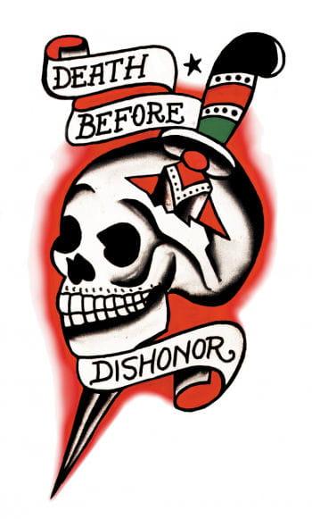 Totenschädel Skull Tattoo