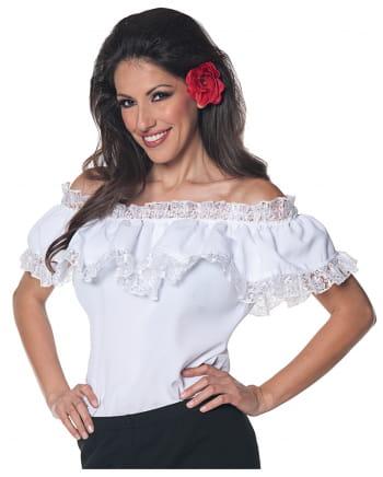 Spanische Carmenbluse