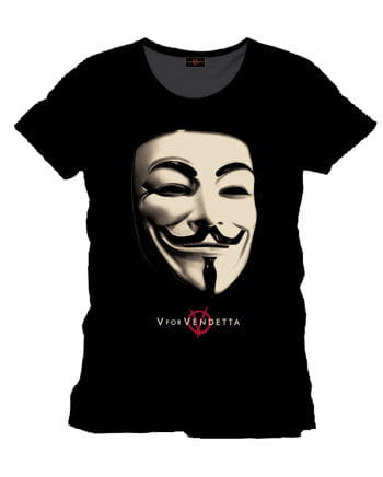 V wie Vendetta T-Shirt Anonymous