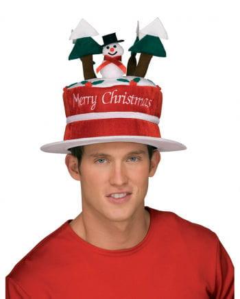 Schneemann Weihnachtshut