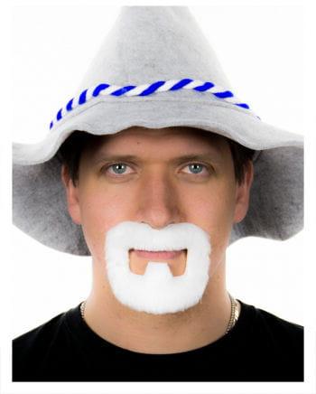 Henriquatre Bart Weiß
