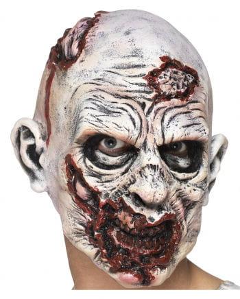 Schaumlatex Maske Zombiekopf