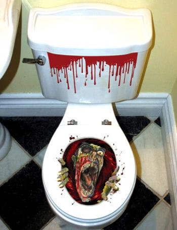 Zombie WC Sticker