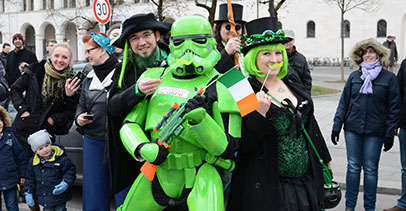 St. Patricks Day Parade Munich