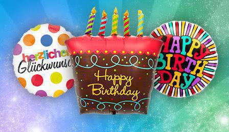 Foil Balloon Birthday