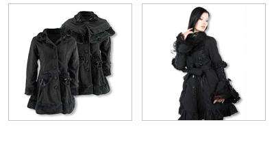 Gothic Jacken & Mäntel