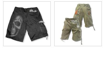 Gothic Hosen & Shorts