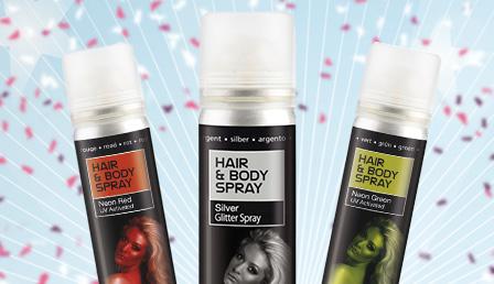 Coloured Hairspray and Hair Dye