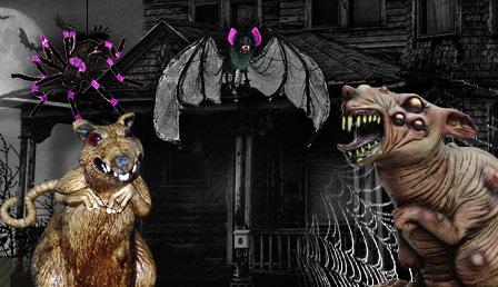 Halloween Insekten & Getier