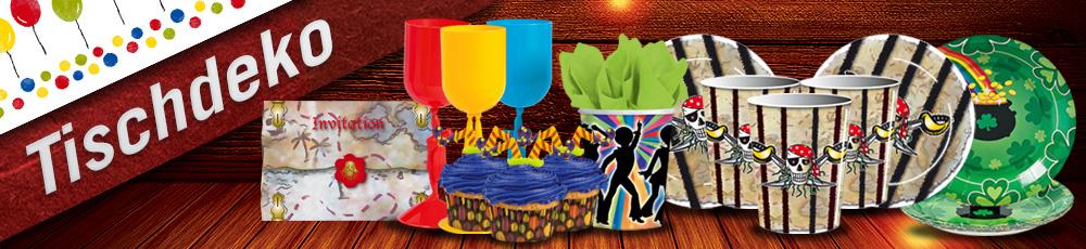Faschings tischdeko und party accessoires karneval universe - Fasching tischdeko ...