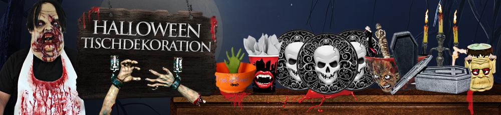 Halloween Tischdekoration