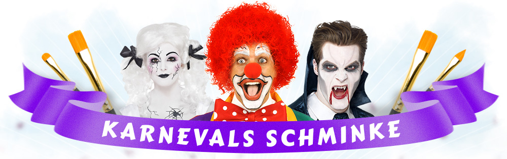 karnevals schminke faschings make up kaufen karneval. Black Bedroom Furniture Sets. Home Design Ideas