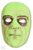 Horror Butler Half Mask Green