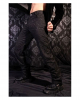 Gothic Brocade Pants black