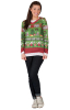 Kitschiges Lady Weihnachts Longsleeve