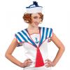 Sailorkragen weiß/blau