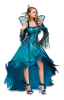 Peacock fairy costume Deluxe M / 38