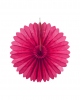 Rosette compartments pink 35 cm