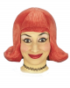 Comic Lady Perücke Rot