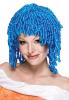 Schillerlocken turquoise wig