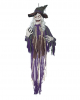 Talking Witch Halloween hanging prop 160 cm