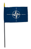 Stock Flag NATO small