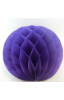 Honeycomb ball purple