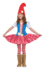 Dwarf Girl Child Costume L