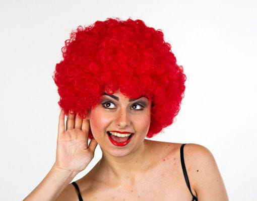 rote Clown Perücke Karnevalsperücken online kaufen