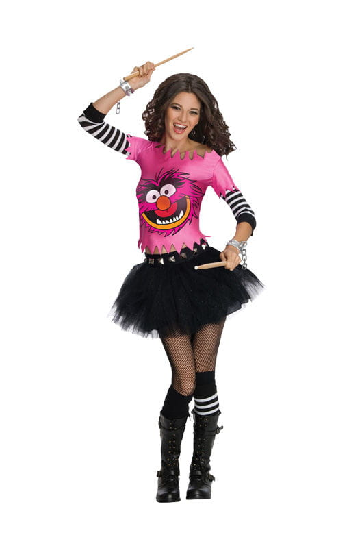 Muppets Animal Damenkostüm Das beste Kostüm für die Tier-Liebhaber unter den Muppet Fans XS