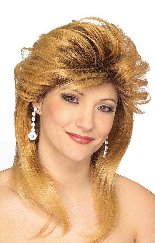 Geschäftsfrau Perücke blond Gesträhnte Perücke für den