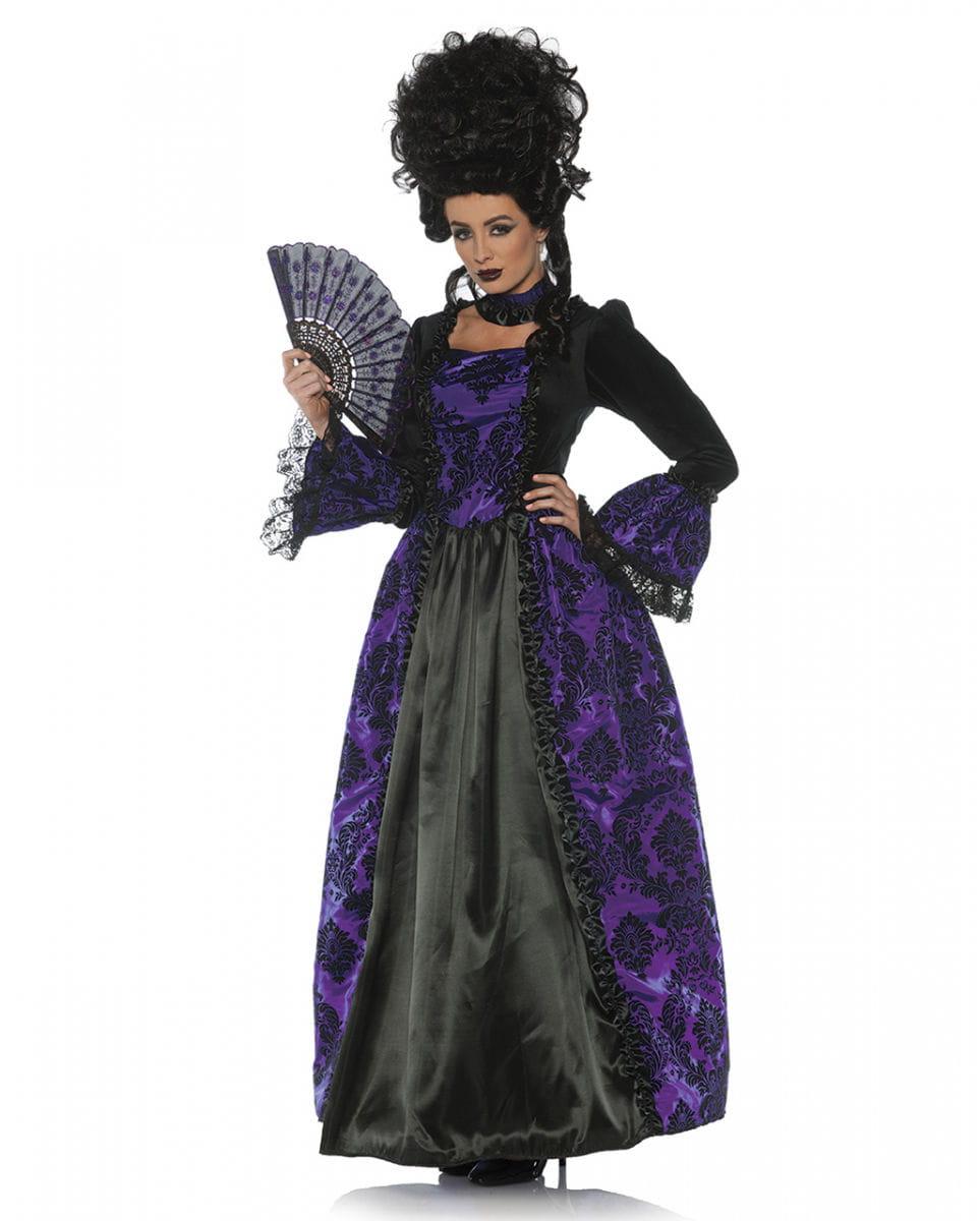 Barock Kostüm Gräfin für Fasching XL