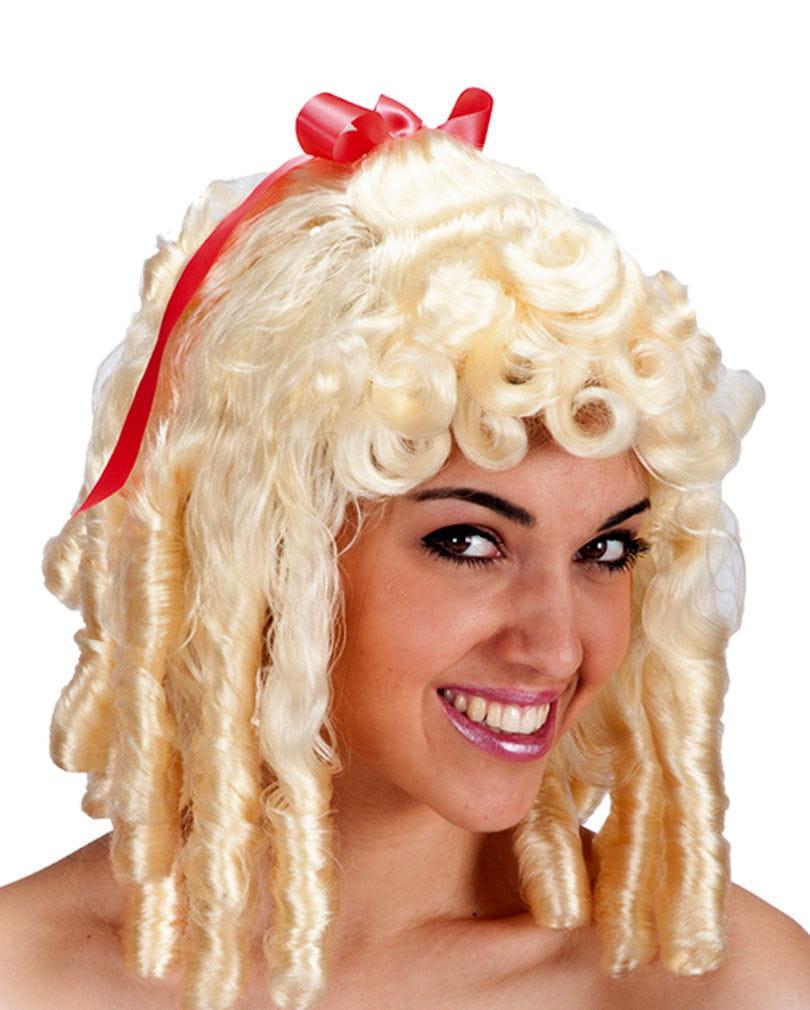 Barock Perücke Josephine blond Faschingsperücke