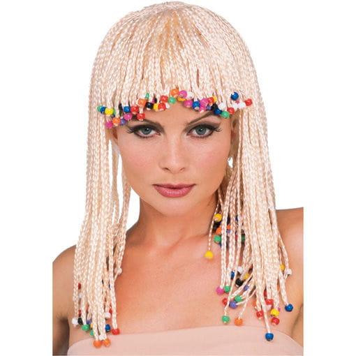 Caribbean Girl Perücke blond Bo Derek Style Perücke